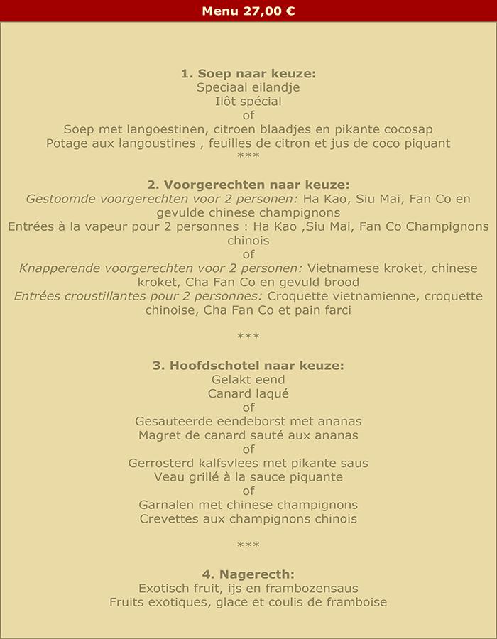 menu 27 fr nl