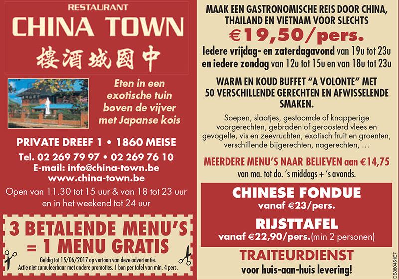 menu promotion nl