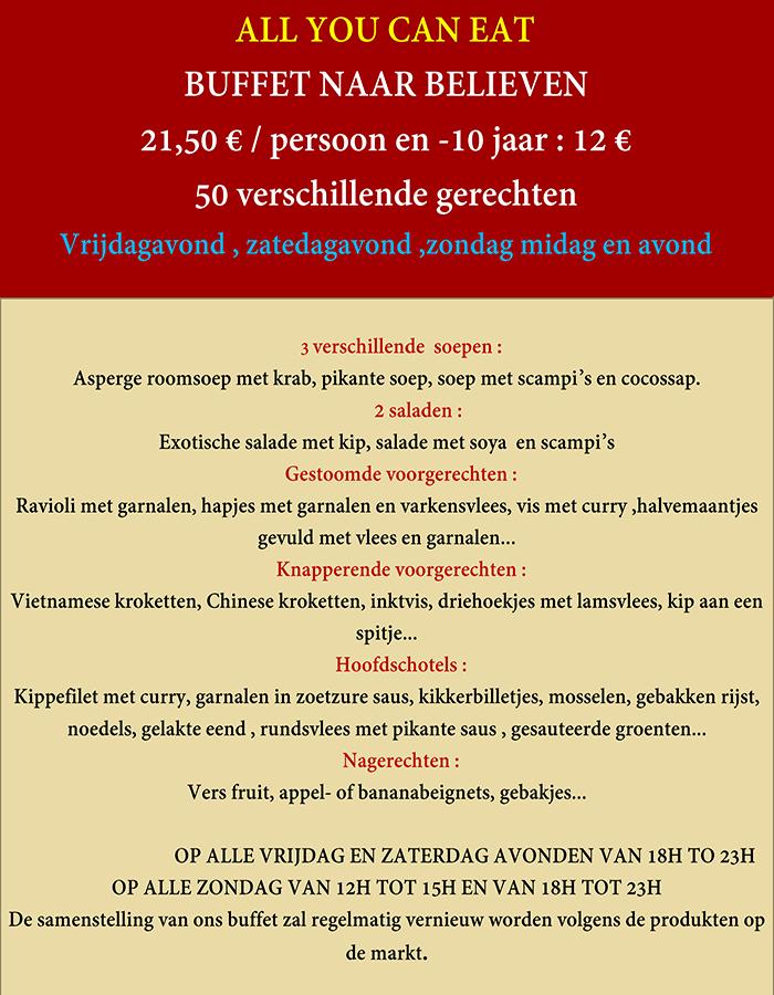 menu buffet21,50